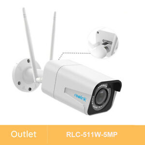 Reolink Renewed Wireless 5MP WiFi Security Camera 4x Optical Zoom Outdoor 511W