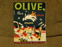 Scholastic OLIVE, The OTHER REINDEER book by J Otto Seibold