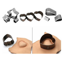 3 Stück Leathercraft Punch Stanzer Leder Stoff Papierschneiden Formen