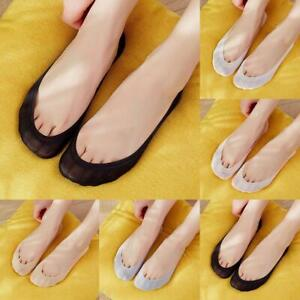 Women Casual Ultrathin Invisible No Show Non Slip Loafer Liner Low Cut Socks New