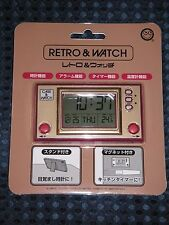 Retro Game and Watch G&W LCD Clock Famicom NES not Nintendo Official JAPAN F/S
