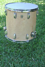 "ADD this 16"" LUDWIG USA CLASSIC NATURAL MAPLE FLOOR TOM to YOUR DRUM SET! #F221"