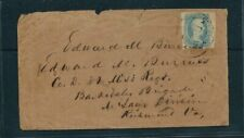 CSA -  SCOTT# 9 0N COVER - BEAUTIFUL STAMP AND CANCEL - SCV: $1,500.00+  F/VF  -