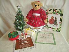 Ashton-Drake Gallery Teddies, Bears to Cherish Addie in December 93482 Christmas