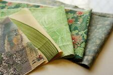 JPI | Patchwork Lot 504 | Vintage Japanese silk kimono Fabric --valued pack---