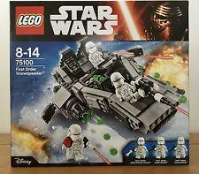 LEGO Star Wars First Order Snowspeeder (75100) New/Sealed