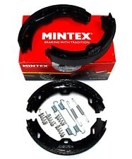 MINTEX REAR PARKING BRAKE SHOES MAYBACH MERCEDES MFR568