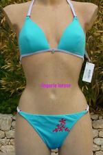 Panache Nina Split Lato Slip Bikini Bottoms Pant SW1068 Melanzana//Multi