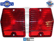 1965 Nova Chevy II WAGON Tail Light Lamp Lens Pair Made in USA  New