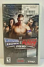 WWE SmackDown vs. Raw 2010 Featuring ECW Sony PSP 2009 PlayStation Portable Game