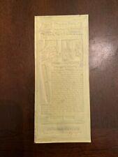 1934 Parker Vacumatic Filler Pen Advertising Newspaper Flong Print Mat Mold