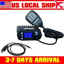 QYT KT-8900D Quad-Standy Car Mobile Radio VHF UHF+USB Programming Cable US STOCK