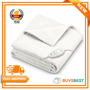 Beurer Cosy Electric Heated Blanket / Snuggie Throw (180 x 130cm) - HD75White