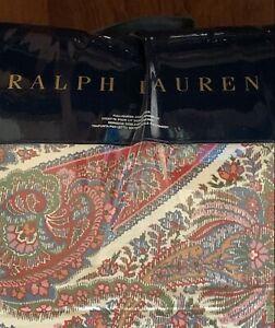Ralph Lauren Norwich Road Pyne Paisley Full Queen Comforter Only NO SHAMS $355