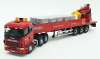 Corgi 1/50 Scale Truck CC12219 Scania Dropside Crane Trailer & Load - Marshalls