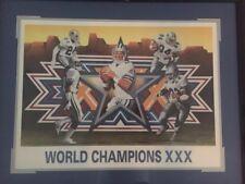 World Champion XXX Print Signed by Artist Daniel M. Smith Print Dallas Cowboys