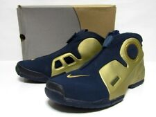 a3e7f50617a8 NIKE AIR FLIGHTPOSITE KG Sneakers Shoes Gold × Navy Men s Size US 12 Y107