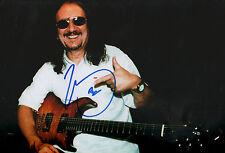 "Mick Box ""Uriah Heep"" signed 8x12 inch photo autograph"