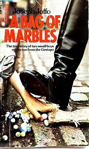 Bag of Marbles by Joseph Joffo vintage Corgi paperback rare WWII account 1976