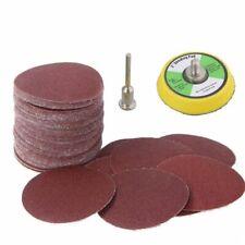 2Inch 50 mm Sanding Discs Sanding Paper Hook and Loop Sanding Pad polishing Tool