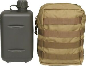 TAS 2L South African Canteen Combo + Khaki Pouch