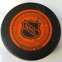 TAMPA BAY LIGHTNING VINTAGE NHL HOCKEY PUCK OFFICIAL MADE IN CSFR VEGUM TRENCH