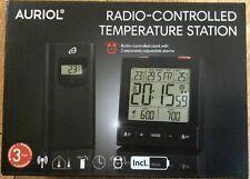 "Radio-Controlled Temperature Station "" Auriol"" Black"