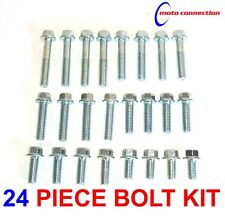 OEM TYPE FLANGE HEAD 8mm M6 24 PIECE BOLT PACK FOR YAMAHA YZ125 YZ250 2002