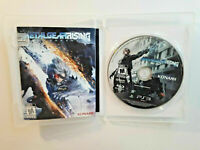 Metal Gear Rising Revengeance PS3 MINT DISC Sony COMPLETE CIB VERY Fast Ship