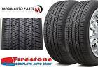 2 Firestone Fr740 21545r17 87w All Season Traction High Performance Tires