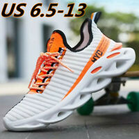 Men's Casual Running Trainers Walking Sports Sneakers Athletic Tennis Shoes Gym