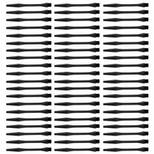 prettyia 60 Pcs 54mm Thread Plastic Re-Grooved Dart Stems Shafts Acessories