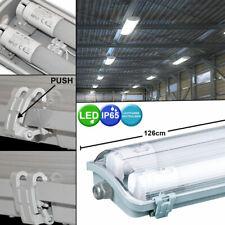 LED Decken Lampe Röhren Wannen Werkstatt Nass Raum Industrie Hallen Leuchte