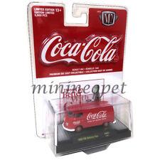 M2 MACHINES 52500 COCA COLA 1960 VOLKSWAGEN DELIVERY VAN 1/64 ALL RED RED CARD