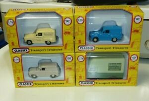 FOUR CLASSIX 1:76 SCALE VANS - ALL BOXED