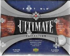 2007 UPPER DECK ULTIMATE COLLECTION BASEBALL SEALED HOBBY BOX