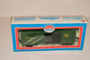 Vintage Model Power HO Scale - 40' Cattle Car Great Northern 8010