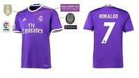Trikot Real Madrid Away Champions League Final Cardiff 2017 - Ronaldo [164-XXL]