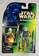 Dengar Bounty Hunter Power of the Force 1997 Star Wars POTF Kenner Green Card