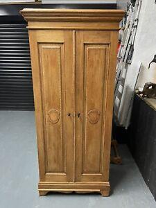 Small antique single wardrobe