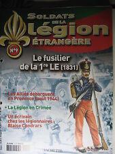 FASCICULE   9 LEGION ETRANGERE FUSILIER DE LA 1re LE 1831