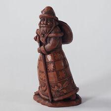 Jim Shore Vintage Chocolate Santa Christmas Figurine ~ 4027710