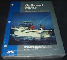 Service Manual Outboard Motor with 30 horsepower and above from 1969 Power Boat