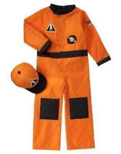 NWT GYMBOREE ASTRONAUT SPACE FLIGHT SUIT COSTUME WITH HAT 5 6 HALLOWEEN DRESS UP