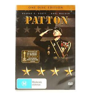 Patton War WW2 Classic Drama DVD R4 Good Condition