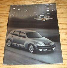 Original 2002 Chrysler PT Cruiser Deluxe Sales Brochure 02
