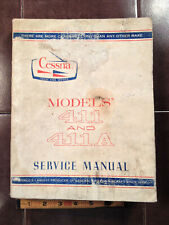 1968 Cessna 411 and 411A Service  Manual