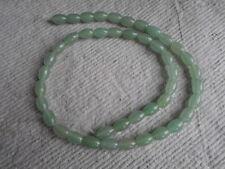 "16"" Filamento De Aventurina Verde ~ ~ arroz perlas"