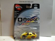 Hot Wheels 100% Preferred Yellow Dodge Viper GTS w/Real Riders