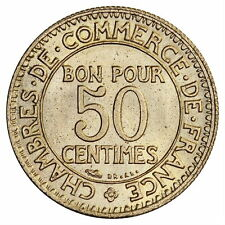 France : 50 centimes 1926 chambre du commerce / Spl - (Franco de port)